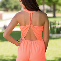 Hot & Bothered Romper