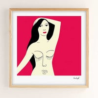Hanna Barczyk Girls Art Print - Urban Outfitters