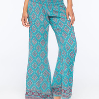O'neill Aconner Womens Pants Teal Blue  In Sizes