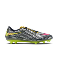 Nike Hypervenom Phantom Premium Men's Firm-Ground Soccer Cleat Size 12 (Silver)