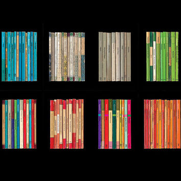 SPECIAL OFFER: All 8 Radiohead Albums-As-Collections-of-Books Poster Prints for the price of 6 with FREE Shipping