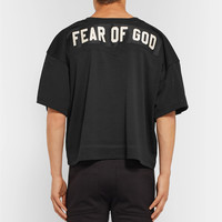 Fear of God - Oversized Appliquéd Mesh Football Jersey