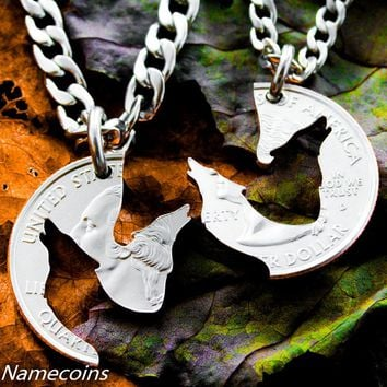 Wolf Relatinship Necklaces