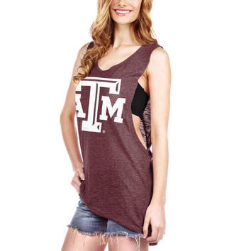 Texas A&M Aggies Women's Muscle Tank Top - Maroon