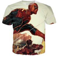 Spider-Man Daredevil Tee