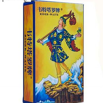 """Family Friends party Board game 2 Kinds Option """"Classic Tarot""""  78 PCS/Set Boxed Playing Card Tarot  For Family/Friends With Free Shipping AT_41_3"""