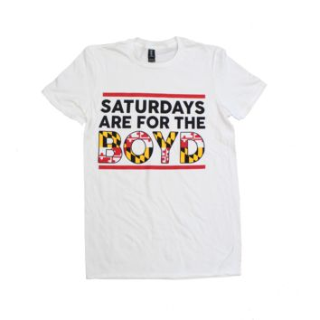 Saturdays are for the Boyd (White) / Shirt