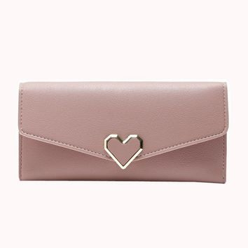 women wallets for credit cards Large Capacity Long Purses leather women wallets female #6M