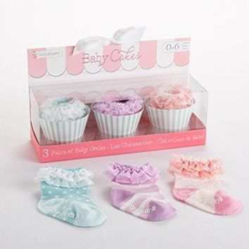 Outlet Baby Aspen Baby Cakes Cupcake Socks