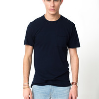 The Jagger Tee in Super Navy