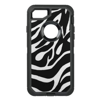 Black & White OtterBox Defender iPhone 7 Case