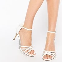 New Look Strappy Heeled Shoe at asos.com