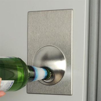 Beer Bottle Opener Magnet