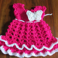 Crochet Baby Dress, Baby Dress pattern, Crochet Baby Dress Pattern, Handmade Baby Dress, Handmade Baby Dress Pattern