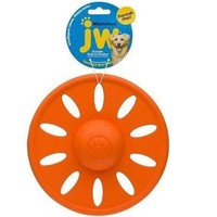 JW Pet Whirl Wheel Squeaky Rubber Dog Toy Sz: Lg