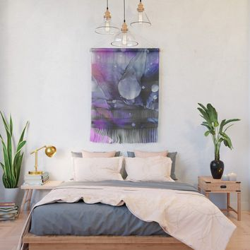 A Violet Gaze Wall Hanging by duckyb