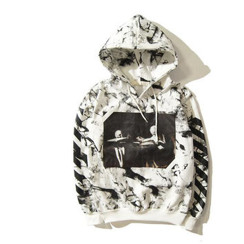 Kanye West Fear of God White 13 Hoodies