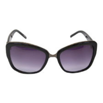 Givenchy SGV827 700X - Black/Gunmetal Sunglasses Givenchy