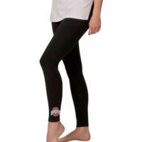 Ohio State Buckeyes Ladies Collegiate Leggings - Black