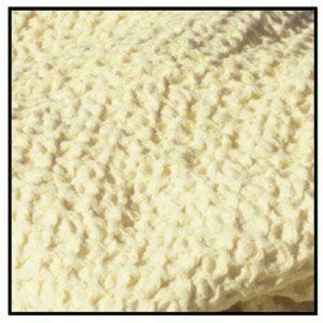 Throw Blanket - Butter Color Classic Weave