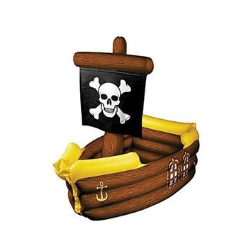 Party Decoration Accessory Inflatable Pirate Ship Cooler 3' 3