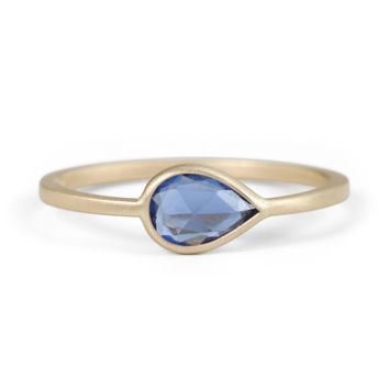 Pale Blue Eyes Ring - Gillian Conroy - Catbird