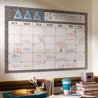 Greek Dry-Erase Monthly Calendar Decal | PBteen