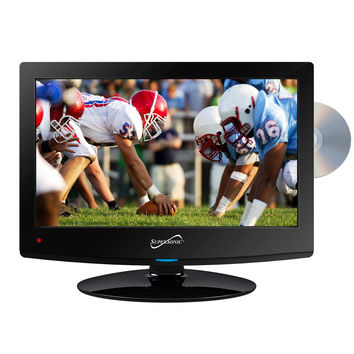 "Supersonic 15"" Class LED HDTV with Built-in DVD Player"