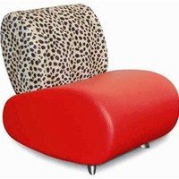 Sofa 87 - Red, Contemporary Sofa Chairs, Living Room Furniture: Nyfurnitureoutlets.com