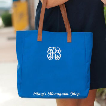 Monogram Tote Bag, Personalized Tote Bag, Tailgating Tote, Game Day Tote, Monogrammed Tote, Red Tote Bag, Bridesmaids Gifts,teacher gift
