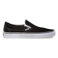 Vans Classic Slip-On Mens Shoes Black  In Sizes