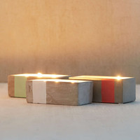 Paddywax Rectangular Concrete Candle - Urban Outfitters