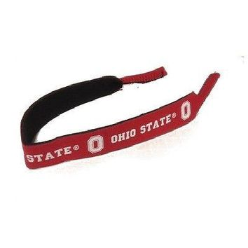 Ohio State Buckeyes  Neoprene Sunglass Eyeglass Strap Holder Croakie