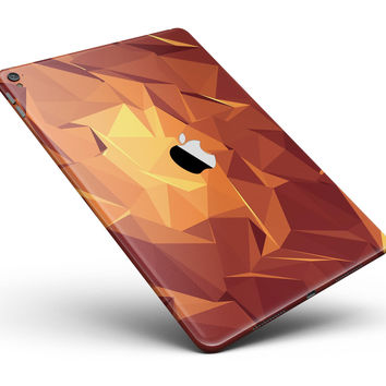 "Fiery Abstract Geometric Shapes Full Body Skin for the iPad Pro (12.9"" or 9.7"" available)"