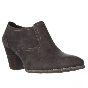 Dr. Scholl's Codi Low Rise Ankle Boots - Brown