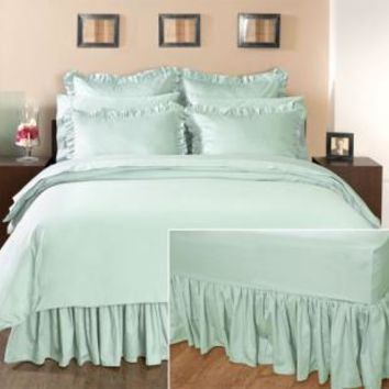 Home Decorators Collection Hotel Ruffled Bedskirt - Bed Skirts - Bed Linens - Linens And Fabrics | HomeDecorators.com