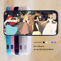 Princess Phone Case For iPhone 6 Plus For iPhone 6 For iPhone 5/5S For iPhone 4/4S For iPhone 5C iPhone X 8 8 Plus
