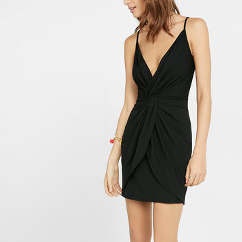 knot Front Cami Dress