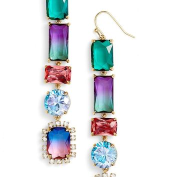 kate spade new york color crush linear drop earrings | Nordstrom