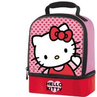 Thermos Dual Compartment Lunch Kit, Hello Kitty