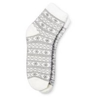 Women's Cozy Feather Lined Low-Cut Fairisle - Merona™