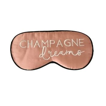 Champagne Dreams Silk Sleep Mask