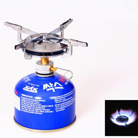 A31 Stainless Steel Gas Stove Burner Picnic Outdoor Hiking BBQ Camp Backpacking Case