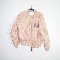 Operation Iraqi Freedom bomber jacket, political windbreaker, american fashion america republican ironic outerwear hipster funny soft grunge