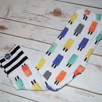 Baby Leggings, Toddler Leggings - Popsicles