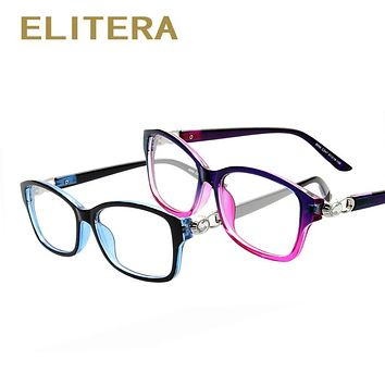 New Brand Crystal connection Women men elegant  Glasses frame Optical Eyeglasses Myopic Frame