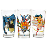 DC Comics Pint Glass