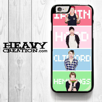 5 Sos Pose for iPhone 4 4S 5 5S 5C 6 6 Plus , iPod Touch 4 5  , Samsung Galaxy S3 S4 S5 S6 S6 Edge Note 3 Note 4 , and HTC One X M7 M8 Case
