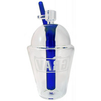 "8"" Grav Labs Cup (Clear w/ Blue Accents)"