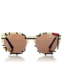 Mondrian Cat Eye Sunglasses | Cutler and Gross | Avenue32